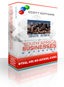 Download South Africa Businesses Database