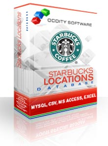 Download Starbucks Locations Database