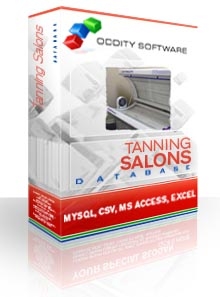 Download Tanning Salons Database