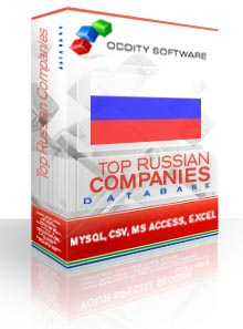Download Top Russia Companies Database