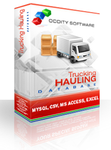 Download Trucking - Hauling and Haulers Database