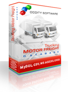Download Database Trucking Motor Freight Database For Sale