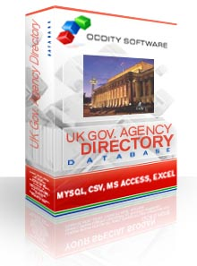 Download UK Government Agency Directory Database
