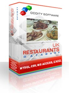 Download UK Restaurants Database