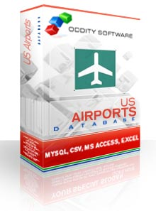 Download U.S. Airports Database
