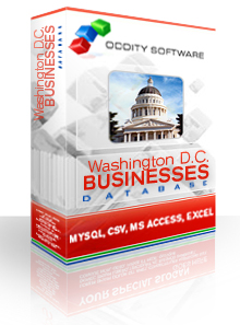 Download Washington DC Business Listings Database