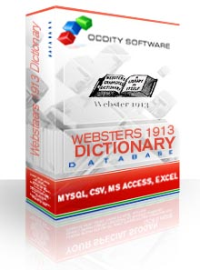 Download Websters 1913 Dictionary