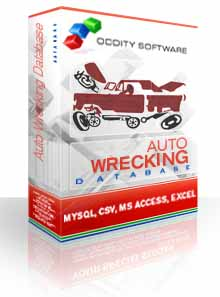 Download Automobile Wrecking Database
