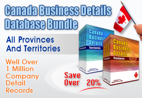 Canada Business Listings Database